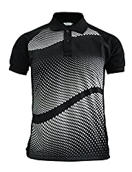 BCPOLO Men's Polo shirt DRI FIT Polo Shirt Short Sleeve Graphic polo shirt-blue XS