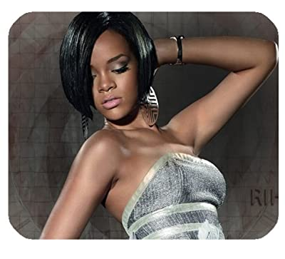 """Rihanna Mousepad Personalized Custom Mouse Pad Oblong Shaped In 9.84""""X7.87"""" Gaming Mouse Pad/Mat"""