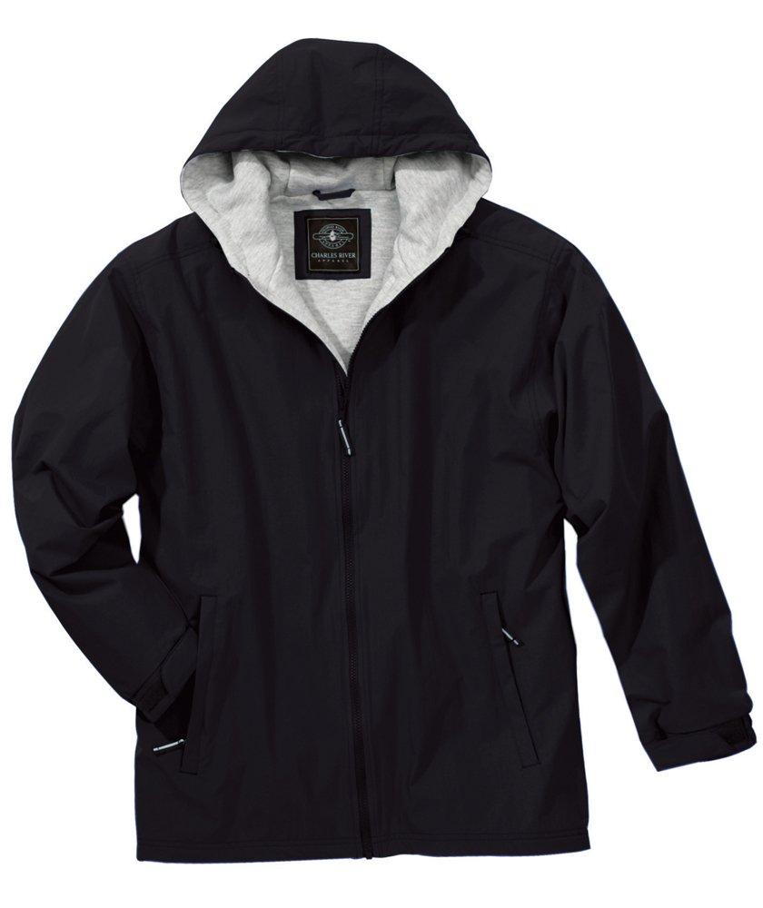 Charles River Apparel Unisex Adult Enterprise Jacket, X-Large, Black