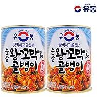 YooDong Canned Seafood Collection 3 Cans | 유동 골뱅이, 왕꼬막 3캔 모음, 3 Mix(왕꼬막 & 골뱅이)