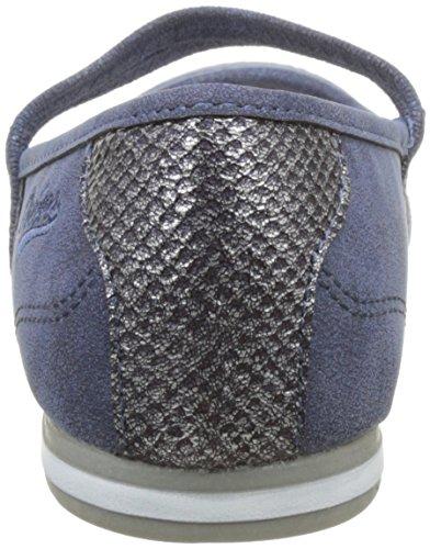 Dockers by Gerli 40be201-630600, Bailarinas para Mujer Azul (Blau 600)