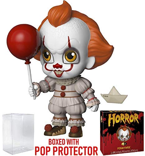 Funko 5 Star Horror Stephen Kings It Includes Pop Box Protector Case Pennywise Action Figure