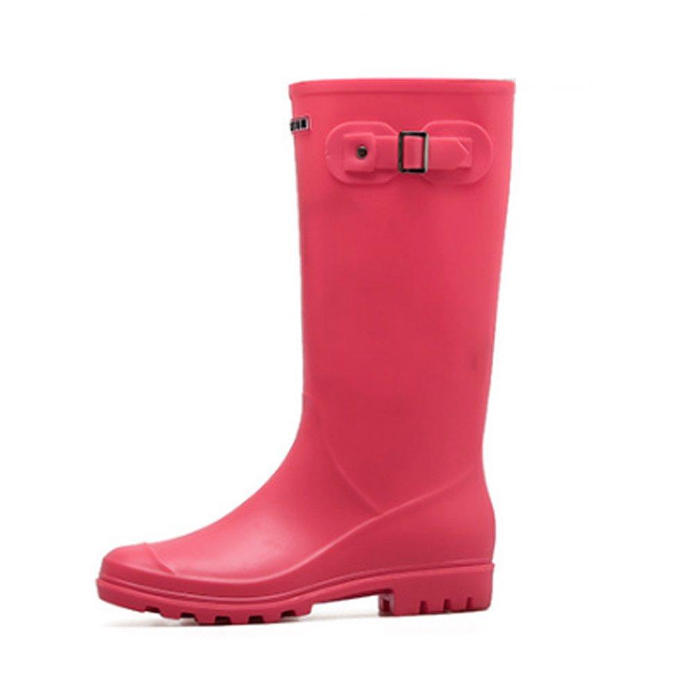 Regenschuhe Regen Stiefel High Tube Verschleißfeste Gelee Student Gummi Frauen Wasser Schuhe Anti Rutsch Frühling Herbst Anti-Rutsch-Regenstiefel (Größe   37 1 3 EU)  | München Online Shop