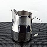 350ml Espresso Coffee Milk Frothing Pitcher Frother Jug Stainless Steel