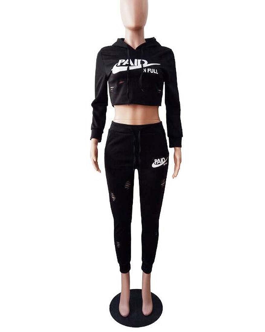 Femmes Casual Plaine Stripe Crop Top Shorts Pantalon Jumpsuit 2 Pièce  Ensemble Tenues XIAOXAIO (Couleur   Noir c304a8a9969