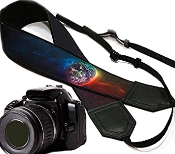 Durable Space Camera Strap Light Weight and Well Padded Camera Strap Galaxy Camera Strap DSLR//SLR Camera Strap Code 00402
