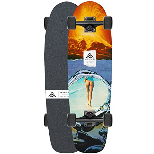 (Prism Skate Co. Cruiser Skateboards [Multiple Models & Graphics] (SBK Series - Biscuit - 28