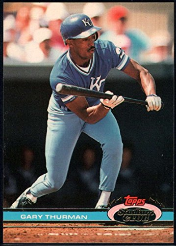 Baseball MLB 1991 Stadium Club #306 Gary Thurman Royals