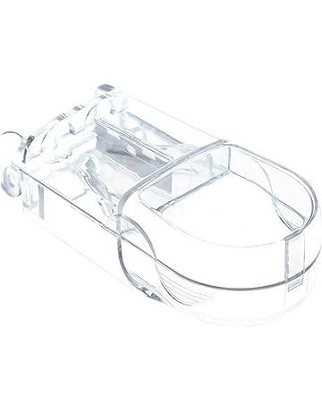 lujiaoshout 1 píldora Pc Cortador plástico Splitter Divisor con diseño ergonómico para el Corte píldoras pequeñas