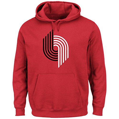 Portland Trail Blazers NBA Hardwood Classics Pullover Hoodie Fleece (XLarge)