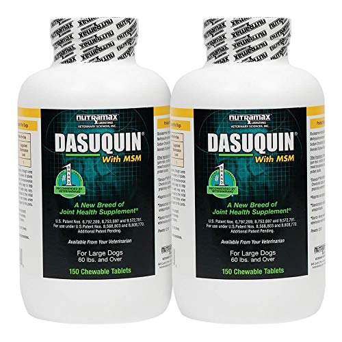 Nutramax Dasuquin Chewable Tablets w/ MSM for Large Dogs 300Ct(2X150Ct)