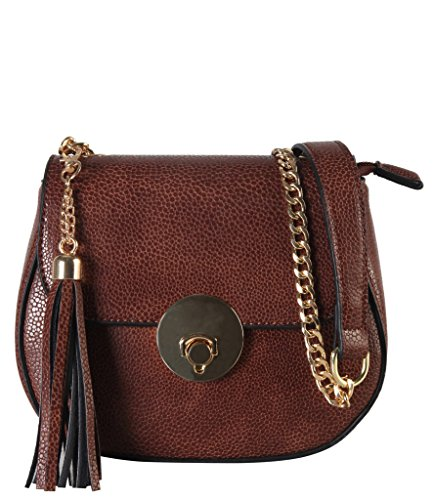 diophy-pu-leather-saddle-style-mini-cross-body-womens-purse-handbag-accented-with-tassels-dcor-chain