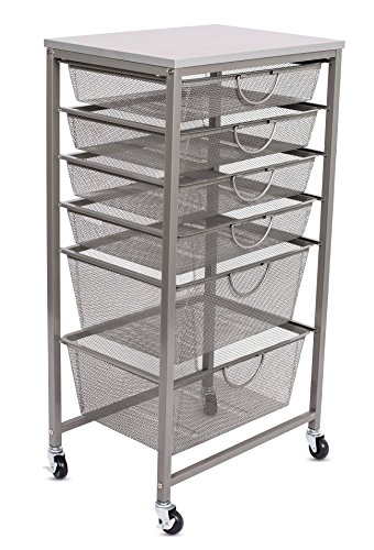 rolling office cart best 6 tier rolling home office carts organizer best carts 25634