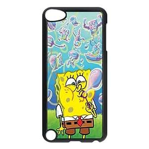 iPod Touch 5 Case Black Sponge Bob lpan