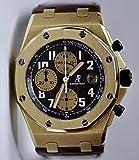 Audemars Piguet Royal OAk Offshore Arnold Schwarzenegger Yellow Gold Watch Leather 26007BA.OO.D088CR.01