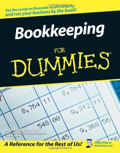 Amazon com: Bookkeeping For Dummies (9780764598487): Lita