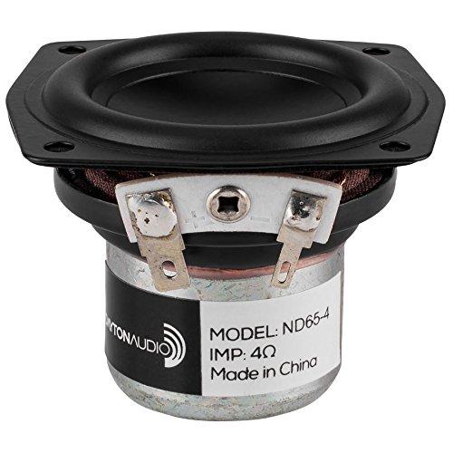 """Dayton Audio ND65-4 2-1/2"""" Aluminum Cone Full-Range Neo Driver 4 Ohm"""