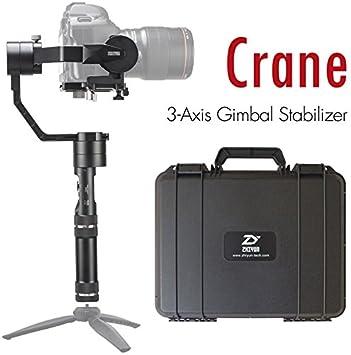 Zhiyun grúa (actualizado V2) 3 Ejes Handheld Gimbal Estabilizador ...