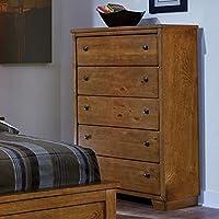 Progressive Furniture Diego Chest, 36 x 18 x 56, Cinnamon Pine