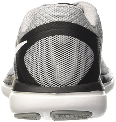 2016 015 Grey White Black Men's Nike Sneakers Wolf Flex Grey Rn UqvxwBT