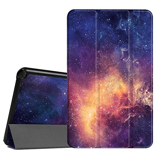 Fintie Slim Shell Case for Samsung Galaxy Tab A 10.1 with S Pen - Ultra Lightweight Protective Stand Cover with Auto Sleep/Wake for Galaxy Tab A with S Pen 10.1 inch (SM-P580/ SM-P585), Galaxy