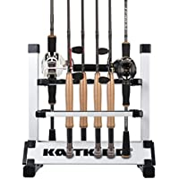 KastKing Fishing Rod Rack Holds Up to 24 Rods
