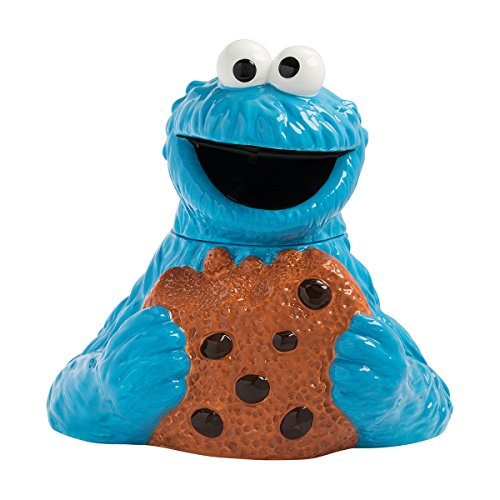 Cookie Monster Sculpted Ceramic Cookie Jar
