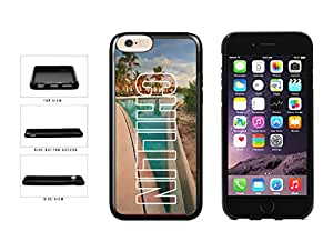 Trendy Chillin on Palm Trees Background TPU RUBBER Phone Case Back Cover Apple iPhone 6 Plus (5.5 inches screen) includes BleuReign(TM) Cloth and Warranty Label
