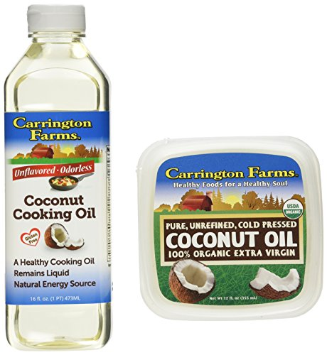 Carrington Farms Coconut Oil & Cooking Oil Bundle (Coconut Oil First Pressed compare prices)