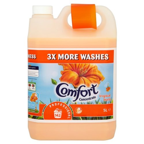 Comfort Concentrate Professional Tropical Burst 142 Washes 5L (Pack of 2 x 5Lltr)
