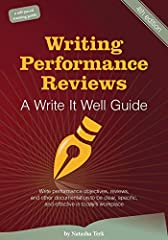 This user-friendly book is filled with guidelines to help you write performance objectives, reviews, appraisals, and other performance documentation. The book's tips and tools help you find language that's clear, descriptive, objective, and a...