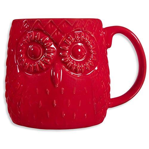 Home Essentials Embossed Owl Mug product image
