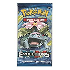 All trainers and Pokémon grow and evolve, and this expansion restores the very first Pokémon trading cards to glory! With the exhilarating power of Mega Venusian-EX, Mega Char izard-EX, and Mega Blast Oise-EX, plus some wild surprises like Dr...