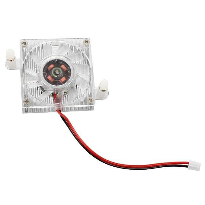 SODIAL(R)40 x 40 x 12mm Enfriador de GPU tarjeta VGA grafico de video de 2 pines Ventilador de enfriamiento Disipador de calor