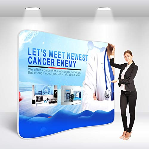 Trade Show Display - Tension Fabric Banner - 10ft