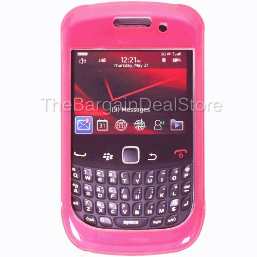 - Blackberry Curve 9300 9330 8530 Double Cover Case Pink OEM
