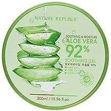 Nature Republic NEW Soothing& Moisture ALOE VERA 92%GEL (300ml)