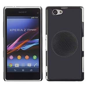 """For Xperia Z1 Compact D5503 , S-type Planeta"""" - Arte & diseño plástico duro Fundas Cover Cubre Hard Case Cover"""
