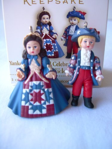 Hallmark 2006 Miniature Ornament Yankee Doodle And Celebrating America Madame Alexander