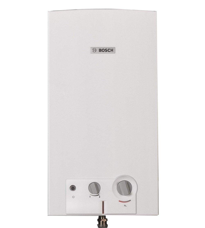 Bosch - 7736504163- Chauffe-eau à gaz méthane, chambre ouverte, blanc