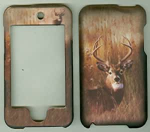 Camo 8 Point Buck Deer Hard Skin Case Cover for Apple Ipod Touch Itouch 2nd and 3rd Generation Gen 2g 3g 2 3 8gb 16gb 32gb 64gb