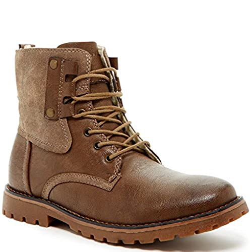 7ee39134155 Giraldi Kallighan Mens Fashion Faux Shearling Lined Boots 70%OFF ...