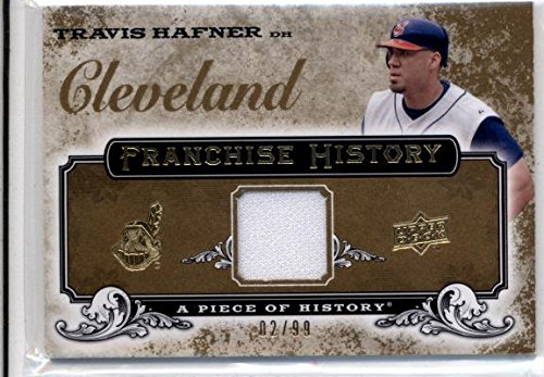 2008 Piece of History Franchise History Jersey Gold Travis Hafner Jersey /99