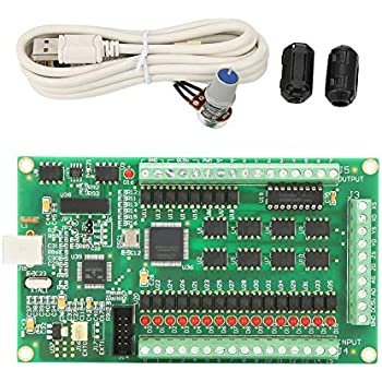 Amazon com: Mach3 CNC Controller, 3/4 Axis USB Mach3 Motion