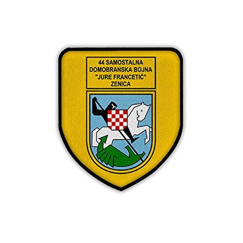 (44 Home Battalion Jure Francetić Dombranska Bonja HVO Specialist Hrvatsko vijeće obrane Croatia coat of arms badge - Patch/Patches )