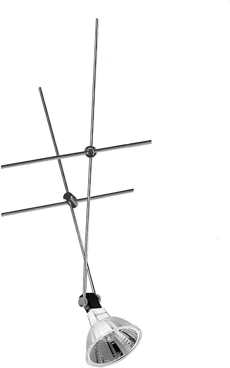 Leuchtmittel Chrom 20watt Paulmann Nice Price Seil Spot Seilsystem 12V 20W inkl
