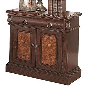 Coaster Home Furnishings Grand Prado 2-Door Nightstand Cappuccino