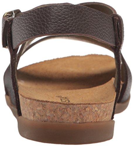 EL NATURALISTA NF46 ZUMAIA mujer de color marrón de cuero marrón sandalias de correa Marrone