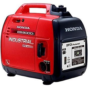 Amazon.com : Honda EU1000i Inverter Generator, Super Quiet, Eco-Throttle, 1000 Watts/8.3 Amps ...