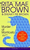 Front cover for the book Murder at Monticello by Rita Mae Brown